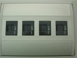 わけあり アウトレット(訳あり) CAT-5eユニットウチダ コネクティングシステム用