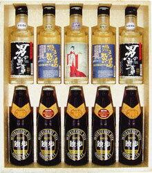 地酒・地焼酎・地ビール バラエティセット(クール配送)【宮下酒造】【あす楽】