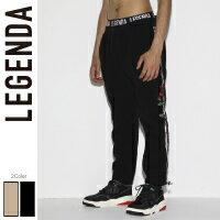 LEGENDA レジェンダ Rose Embroidery Side line Fleese Pants[LEP171]