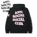 anti social social club パーカー アンチソーシャルソーシャルクラブ Sports Black Hoodie BLK