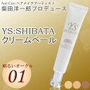 【送料無料】01明るいオークル YS SHIBATAクリームベール 美容液ファンデーション!コンビニ受取対応商品10P03Dec16