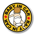 【MSGステッカー】BABYINCARベビーインカーステッカーイエロー