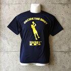 【新入荷】HASBYバスケットボールTシャツドライシルキーdecidetheshotネイビー