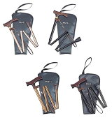 伸縮折り畳み杖メインスリムベーシック