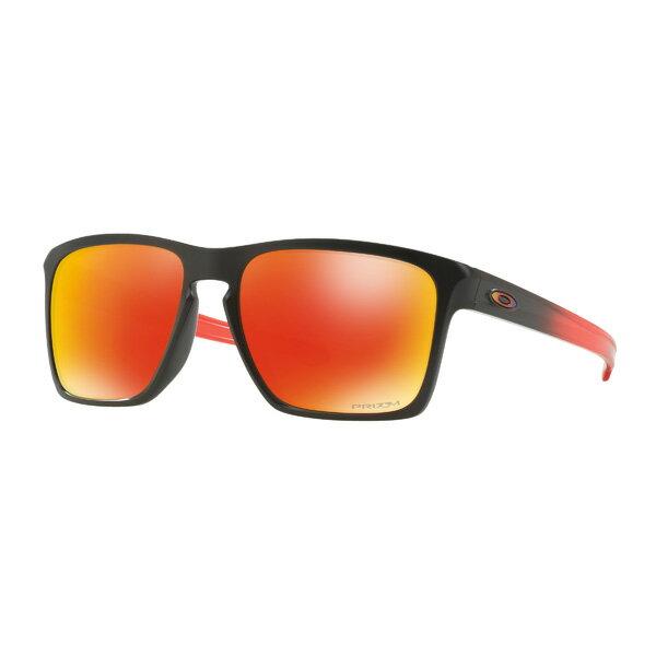 スポーツウェア・アクセサリー, スポーツサングラス Oakley Sliver XL XL Ruby Fade Collection OO9341-1457 Ruby FadePrizm Ruby
