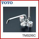 【TMS26C】【期間限定】【送料無料】TOTO バス水栓 2ハンドルシャワー金具台付タイプ 【激安】