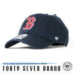 【47 Brand フォーティーセブンブランド】 キャップ スナップバック ローキャップ SNAPBACK 帽子 ボストン・レッドソックス メンズ men's 国内正規品 インポート ブランド 海外ブランド