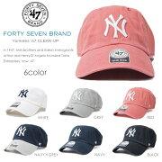 フォーティーセブンブランド キャップ スナップ ホワイト ニューヨーク ヤンキース レディース ブランド