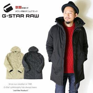 【セール 50%OFF】【G-STAR RAW ジースターロウ】 ジャケット コート 中綿 フード アウター ボア ジースターロー gstar メンズ men's インポート ブランド 海外ブランド D09654-A516 19FW