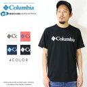 【2019年 春夏新作】【Columbia コロンビア】 tシャツ 半袖 プリント ロゴ OMNI-WICK オムニウィック men's メンズ 国内正規品 インポート ブランド 海外ブランド アウトドアブランド PM1515 Urban Hike Short Sleeve Tee