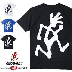 【セール 20%OFF】【GRAMICCI グラミチ】 tシャツ 半袖 ロゴ ランニングマン 定番 メンズ 売れ筋 国内正規品 アウトドアブランド インポート ブランド 海外ブランド GUT-20S063
