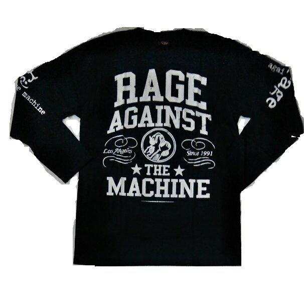 ロックTシャツ 長袖 Rage Against ...の商品画像