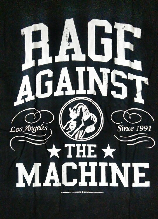 ロックTシャツ 長袖 Rage Against...の紹介画像2