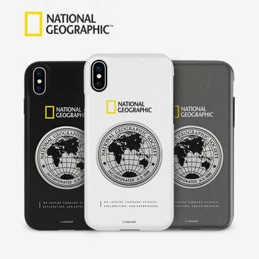 <National Geographic 公式商品>【iPhone 8 Plus/ 7 Plus】 Global Seal Metal-Deco Case 130周年記念メダルが飾られたケース NG13051i8P NG13052i8P