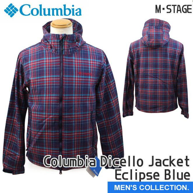 【コロンビア】Columbia Dicello Jacket Eclipse Blue(コロンビア ディセロジャケット) メンズ/ユニセックス アウタージャケット[メンズサイズ]