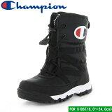 【チャンピオン】 ジュニア スプラッシュコート2 ブラック 子供靴 ジュニア ウィンター ブーツ 防水 Champion CP JSC033W JR SPLASH COURT 2 19.0〜24.0cm