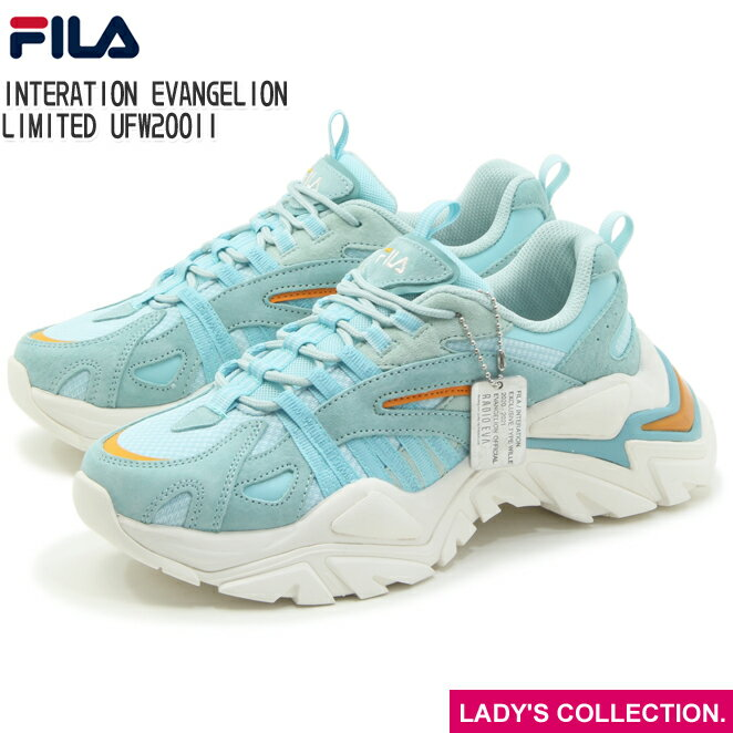 レディース靴, スニーカー FILA WILLE FILA INTERATION EVANGELION LIMITED UFW20011