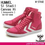 ��HUMMEL��SlStadilCanvasHi(�ҥ����Sl������ǥ����륭���Х��ϥ�)Honeysuckle(63-737-4049)��ǥ�����