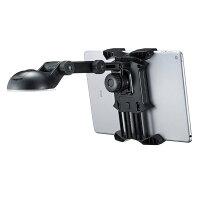 【送料無料】タブレットを車にマウントしてカーナビのように使える車載ホルダー。ブラック。[CAR-HLD7BK]【サンワサプライ】P23Jan16