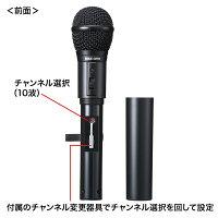 【送料無料】MM-SPAMP4用ワイヤレスマイク。[MM-SPHMW4]【サンワサプライ】P23Jan16