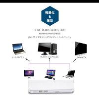外付けポータブルDVDドライブUSB3.0対応外付けDVD±RW/CD-RW光学式ドライブ超スリム携帯型外付けプレイヤー/レコーダーWindow/Linux/MacOS三対応