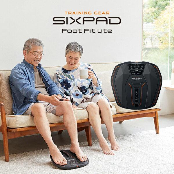 シックスパッドフットフィットライト電池付きセットSIXPADFootFitLiteEMSMTG足裏健康器具フットフィットフットラ