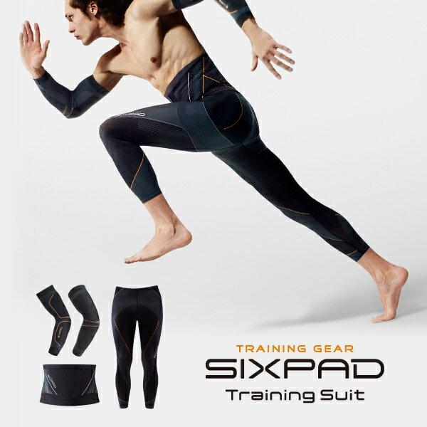 【 メーカー公式店 】 MTG シックスパッド トレーニングスーツ フルセット SIXPAD sixpad 着圧 インナーマッスル トレーニングウェア インナー 着圧補整機能 くびれ ウエストライン 上腕三頭筋