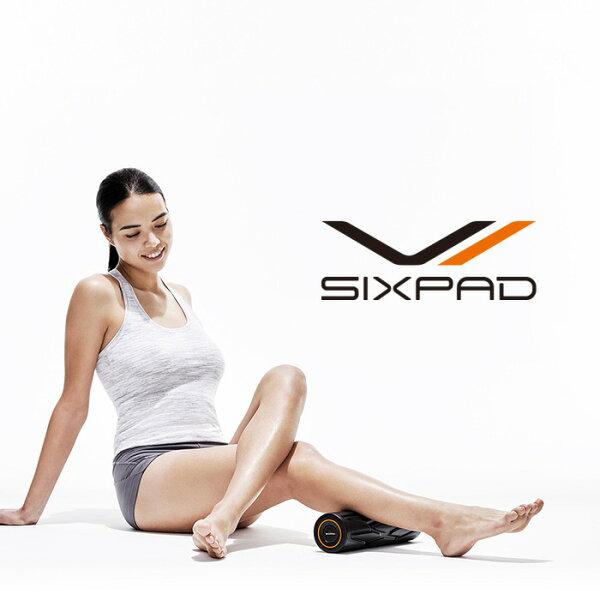 シックスパッドパワーローラーエス メーカー公式店 フィットネスセルフケアボディケア筋膜リリースヨガストレッチ振動筋肉背中腕脚