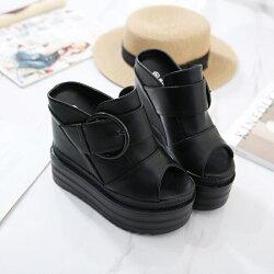 サマーブーツブーツサンダル厚底靴レディースシューズ靴サンダルオープントウレディースウェッジソールサンダルレディースぺたんこさんだるストームレースサンダル夏物美脚/サンダル/レディース/歩きやすい/ウェッジヒール/女性