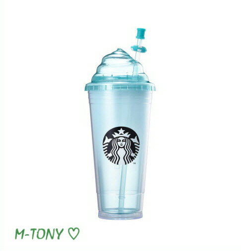 Starbucks(スターバックス)『サマー ライトブルー ホイッピングクリーム コールドカップ』