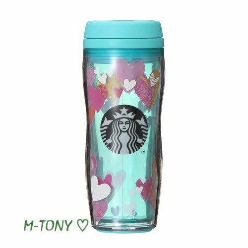 3f834a7b99b Starbucks スターバックスバレンタイン 2019 ボトル ハート ブルー355ml、ギフト包装/スタバ/タンブラー/