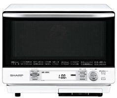 シャープ過熱水蒸気オーブンレンジ2段調理31LホワイトRE-V100A-W