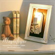 【Magnifiqueマニフィック】1灯ウォールフレームランプ/ホワイトアンティーク(OB-079-1W)