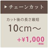 シャンデリア チェーンカット 【最短10cm】加工 チェーン加工 短く調整