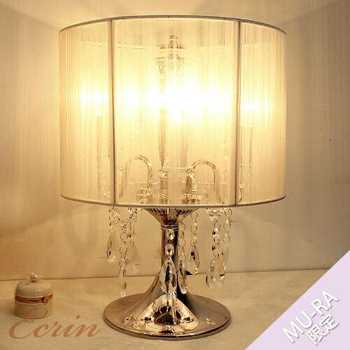 シャンデリアテーブルランプ3灯卓上ランプシェード ...