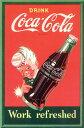 コカコーラ/Work Refreshed ポスター 2400-3666