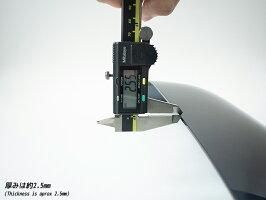 FJクルーザービッグワイドバイザーver.2(改良版)/ダークスモーク/マッドファクトリー製