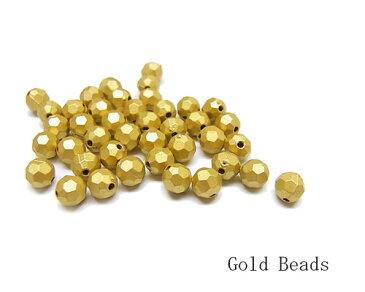 ゴールドグレイン 50個[bea-217]