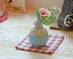 信楽焼 一輪挿し ブルーチタン ミニ花入 小さい 花瓶 陶器 おしゃれ 花入 在庫数限り 北欧 陶器 花びん 花器 フラワーベース プレゼント ギフト 信楽 信楽焼き やきもの あす楽 (MR9098-13G)