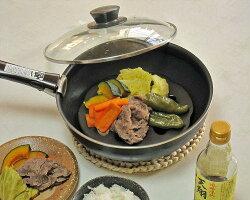 【楽天市場】万古焼 陶器 蒸し皿 黒 プライパン用 直火 IH ...