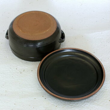 万古焼 電子レンジ対応 陶器 おひつ 3合 用 冷蔵用 日本製 国産 三合 ギフト 萬古焼 焼き物 やきもの(11-09)