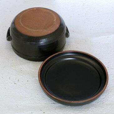 万古焼 電子レンジ対応 陶器 おひつ 2合 用 冷蔵用 日本製 国産 二合 ギフト 萬古焼 焼き物 やきもの(11-10)