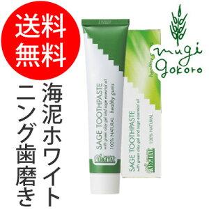 歯磨き粉 オーガニック アルジタル グリーン 歯みがき デンタルケア ホワイトニング