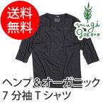 【ゴーヘンプ】【GOHEMP】ベーシックフットボールTシャツBASICFOOTBALLTEE(五分丈Tシャツ)