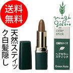 【グリーンノート】ヘアカラースティックライトブラウン/ダークブラウン/ブラック各4g(白髪・薄毛隠し)