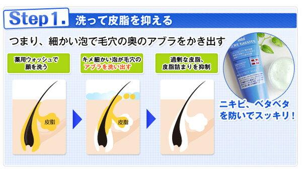 石澤研究所『メンズアクネバリア薬用ウォッシュ』