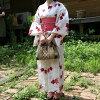 【新商品】アジアンウッドハンドルカチューレディース鞄ランチバッグトートバッグ手提げ婦人用夏アジアン