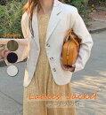 スーツジャケットレディースアウターレディースジャケット長袖2021S/S新作春秋オーバーサイズ新品カジュアル韓国韓国ファッションストリート綺麗めゆったり