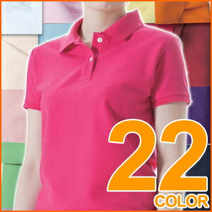22 Color 5.3 oz t/c polo-shirt girls size athle 2P13oct13_b.