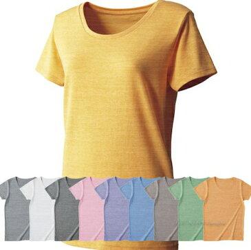FELIC トライブレンドウィメンズTシャツ/青/緑/黄色/イエロー/茶色/水色/ピンク/オレンジ/紺/紫【40】【3000127】
